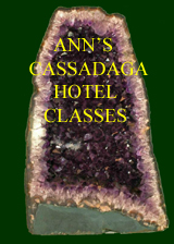 CASSADAGA CLASSES